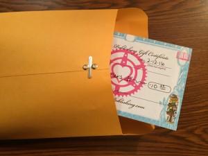microcosm gift certificate