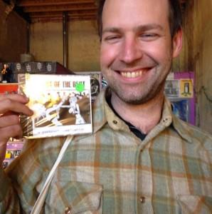 joe with cd