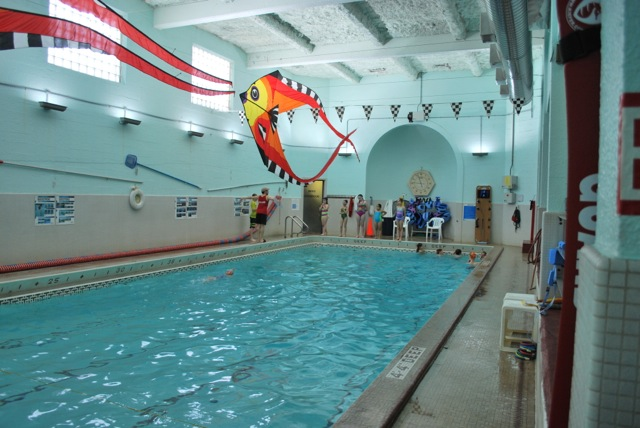 Inside the YMCA where Scooter McCarthy took swim lessons