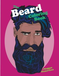 beard coloring book cover