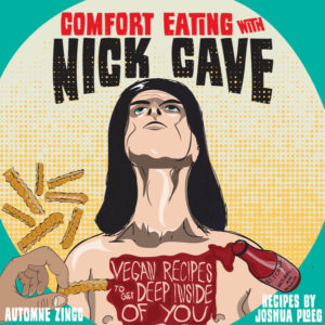 sad nick cave vegan cookbook cover