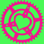 Microcosm Chainring Heart logo