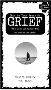 Dr Faith Grief zine cover