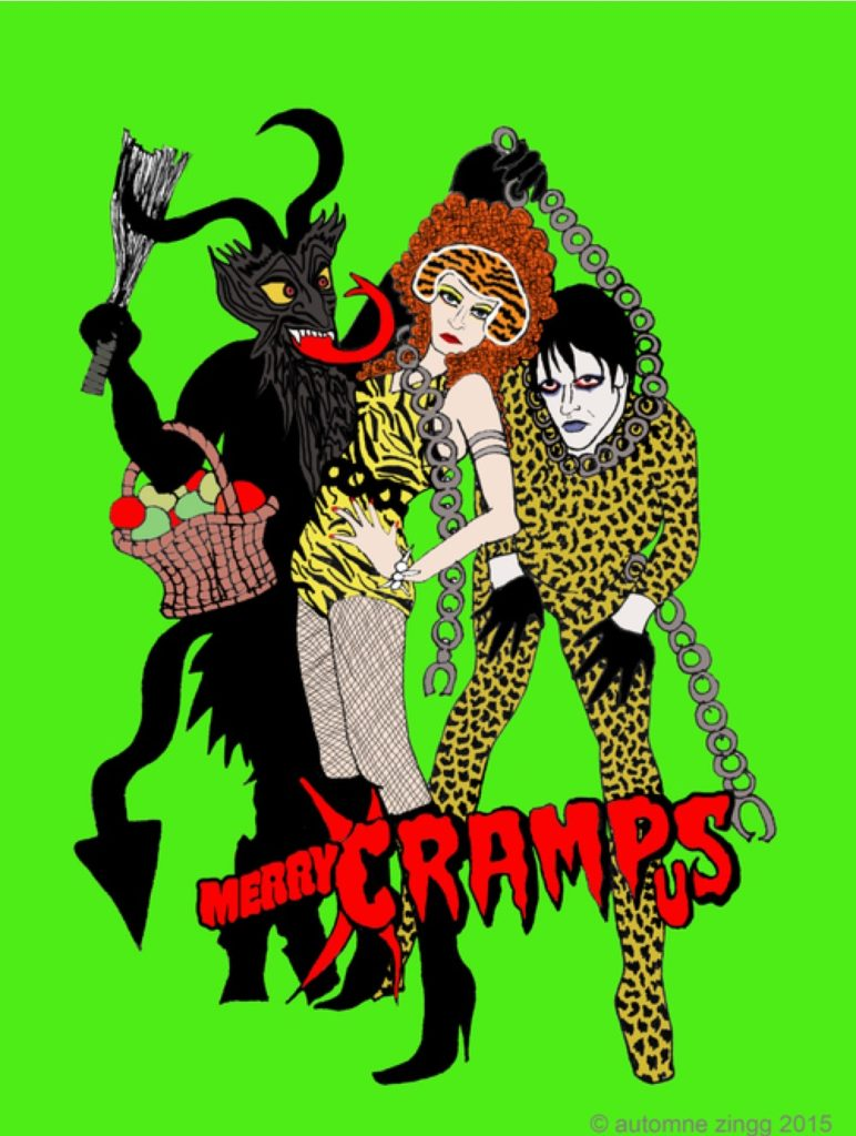 Merry Krampus by Automne Zingg