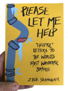 Book cover showing a leaking pipe fixed with band-aids
