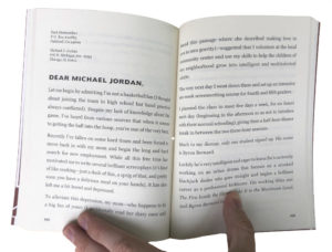 A strange and humorous letter to Michael Jordan