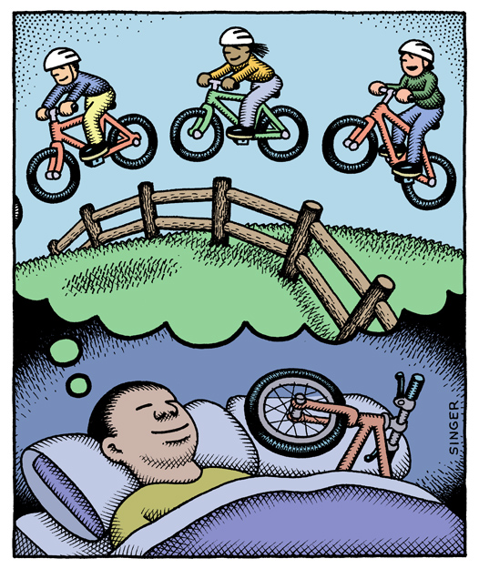 bike dreams by andy singer