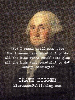 george washington endorses crate digger