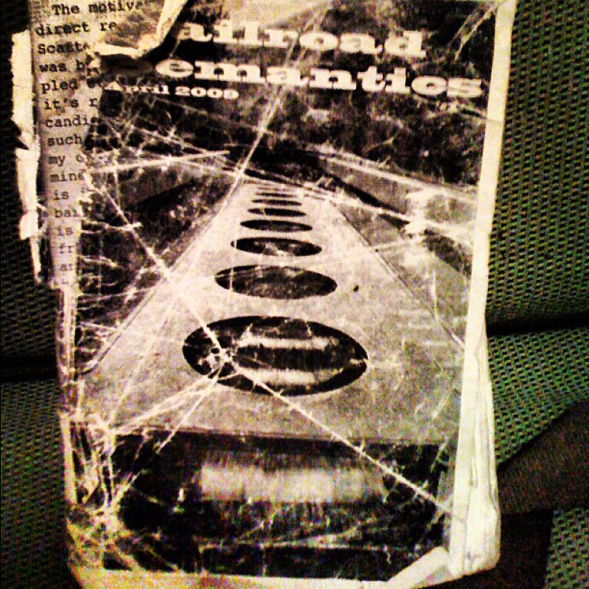 an original railroad semantics zine