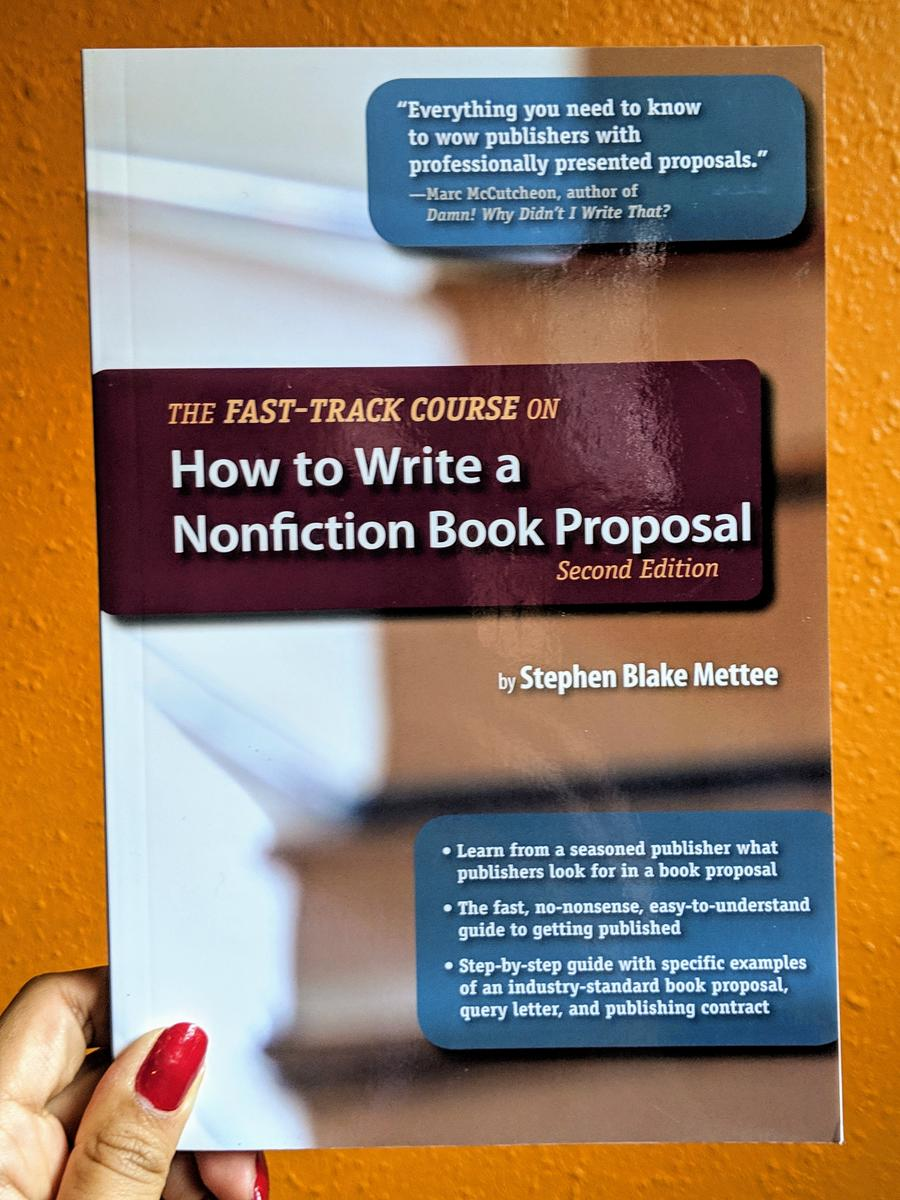 Stephen blake mettee the fast track course on how to write a nonfiction book proposal how to cite apa style example