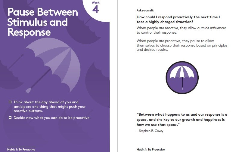 7 Habits of Highly Effective People: 30th Anniversary Card Deck image #1