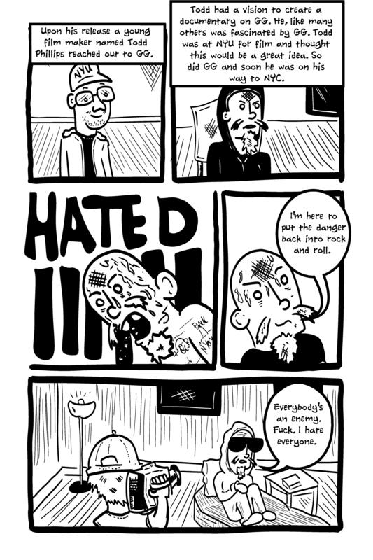 Rock and Roll Terrorist: The Graphic Story of Shock Rocker GG Allin image #6