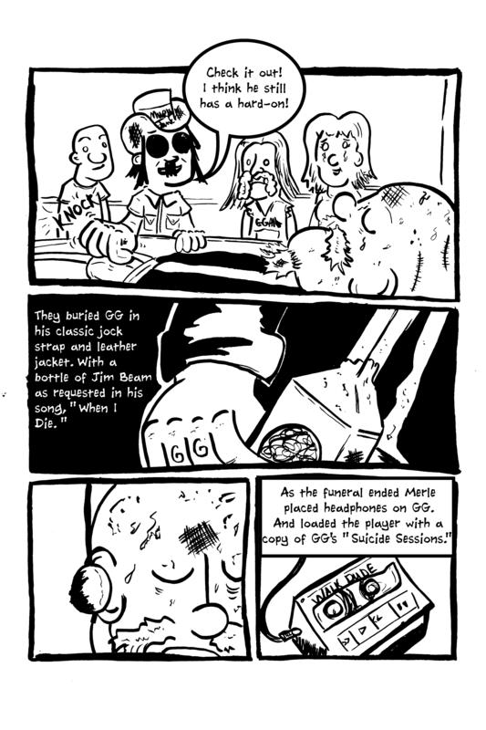 Rock and Roll Terrorist: The Graphic Story of Shock Rocker GG Allin image #2