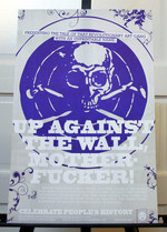 Up Against the Wall Motherfucker poster