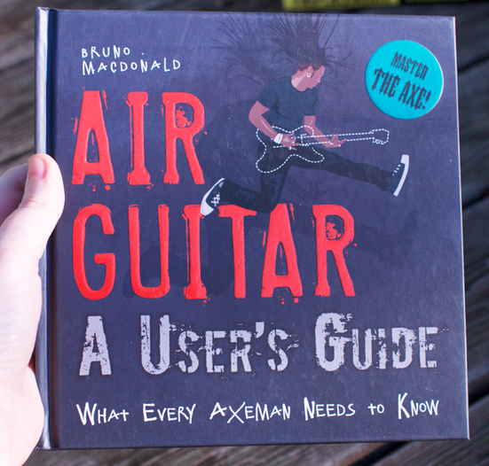 Air Guitar A User's Guide by Bruno MacDonald
