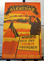 Occupation of Alcatraz Poster