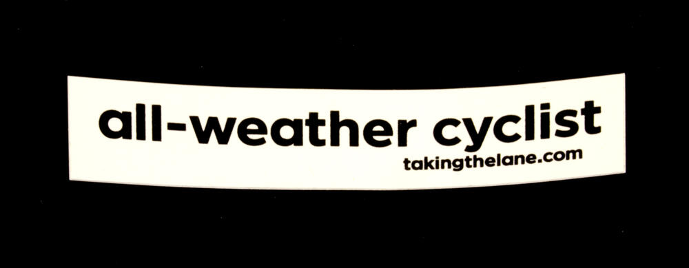 Sticker #322: All-Weather Cyclist