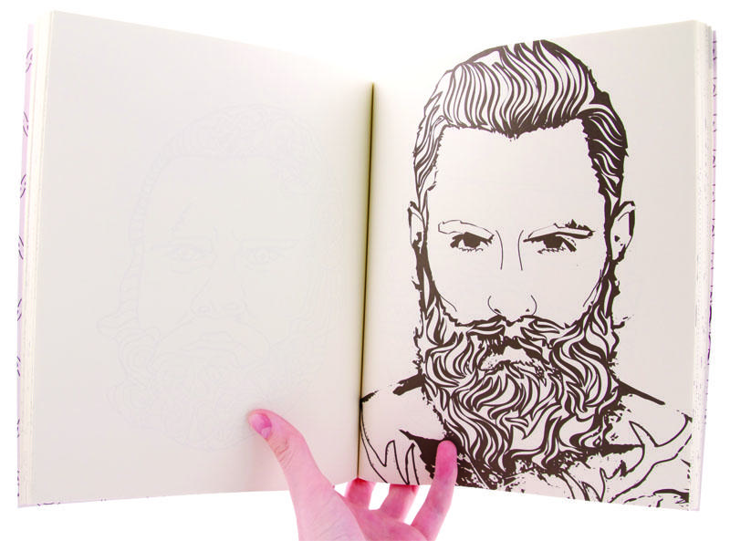 The Beard Coloring Book image #1