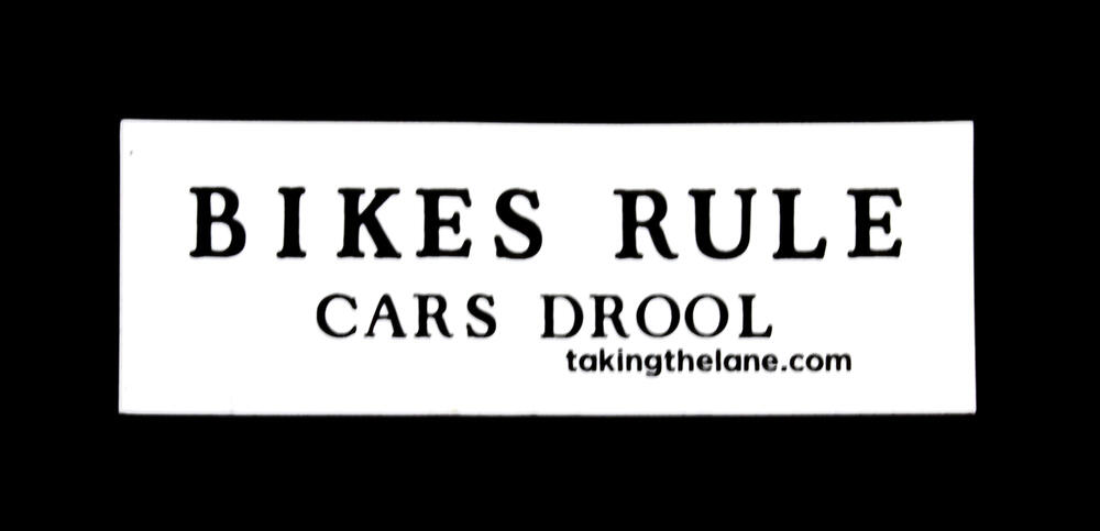 Bikes Rule, Cars Drool