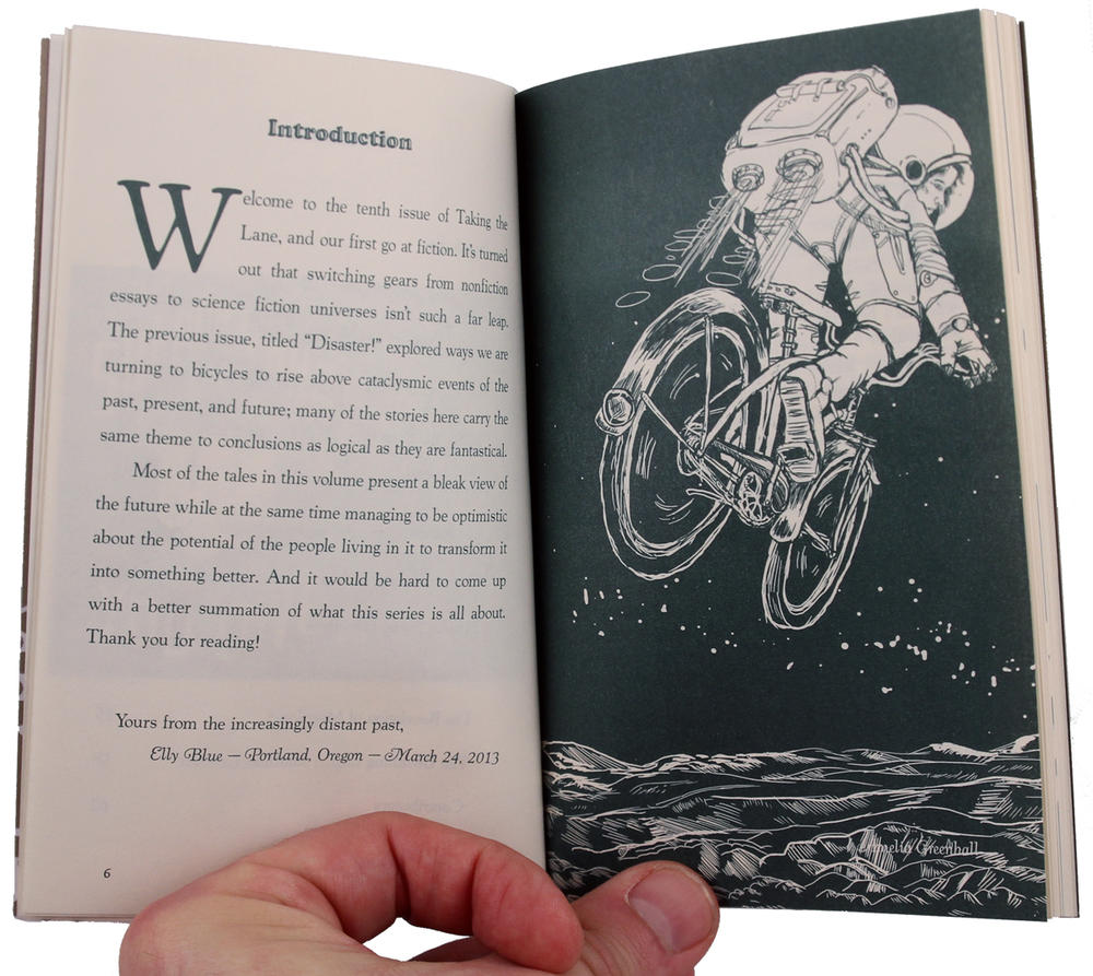 Bikes in Space: Feminist Bicycle Science Fiction image #1