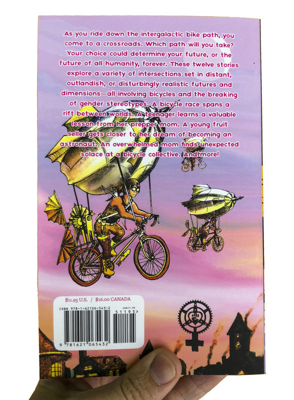 Bikes Not Rockets: Intersectional Feminist Bicycle Science Fiction Stories image #3
