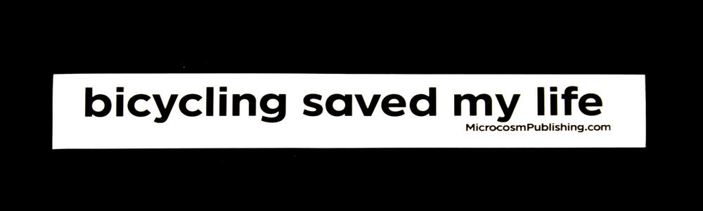 Sticker #320: Bicycling Saved My Life