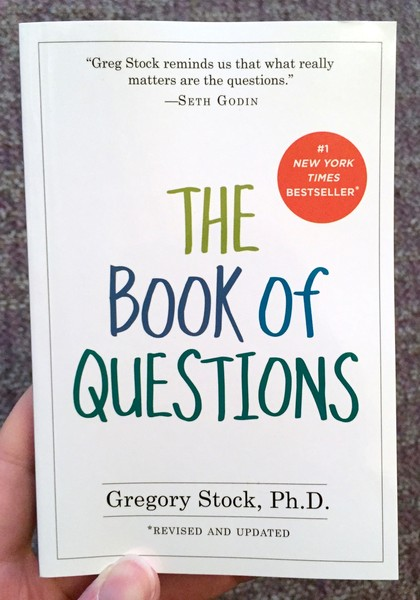 Image result for the book of questions