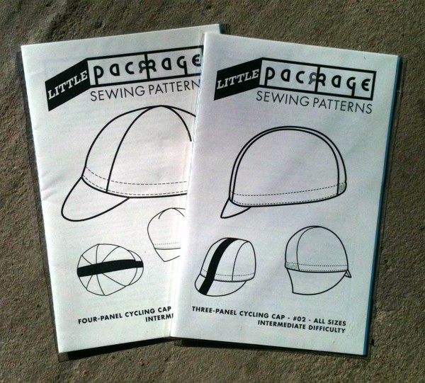 Little Package cycling cap pattern kit