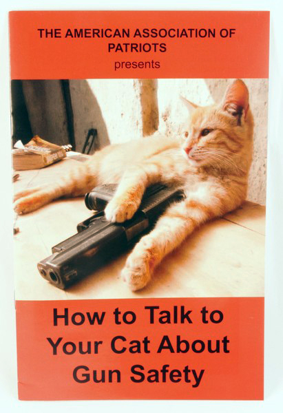 How To Talk To Your Cat About Gun Safety Zine Microcosm Publishing