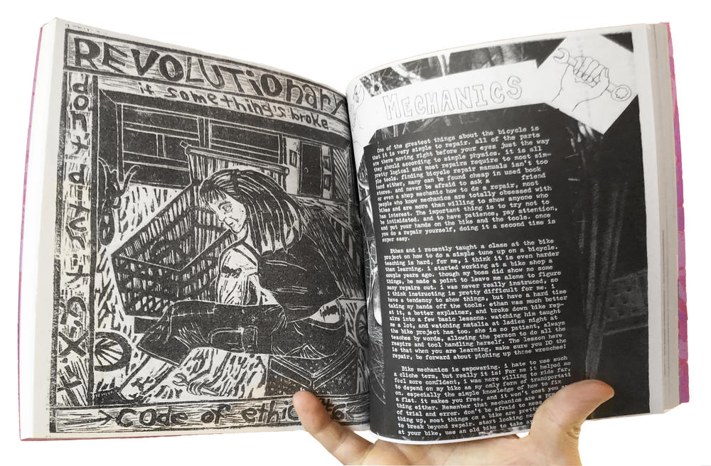 Chainbreaker Bike Book: An Illustrated Manual of Radical Bicycle Maintenance, Culture, & History image #3