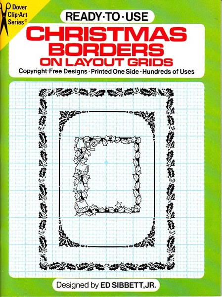 Ready to use Christmas Borders on Layout Grids