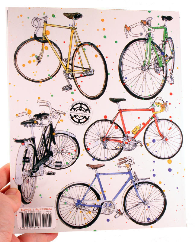The Classic Bicycle Coloring Book image #2
