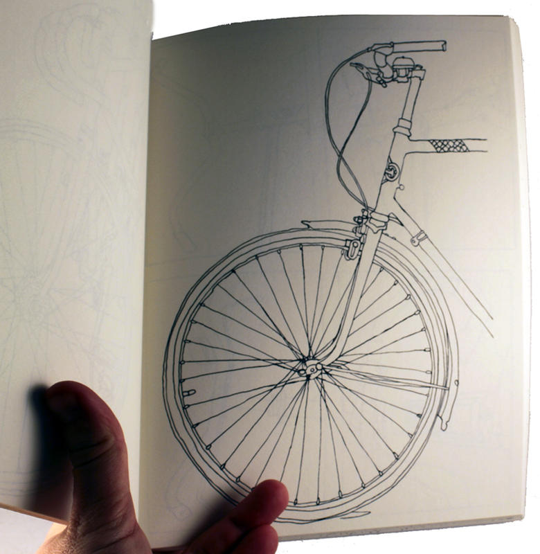 The Classic Bicycle Coloring Book image #1
