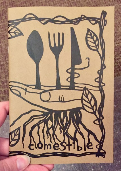 Comestible: Issue 5 papercut cover
