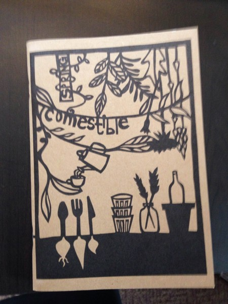 Comestible food journal by anna brones