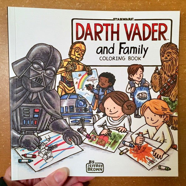 Star Wars Darth Vader And Family Coloring Book Microcosm Publishing
