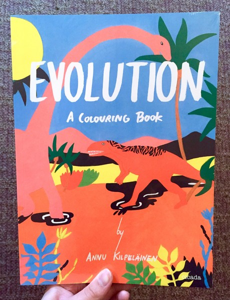 Evolution: A Colouring Book | Microcosm Publishing