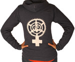 Chainring Feminist Fist Heart Sweatshirt
