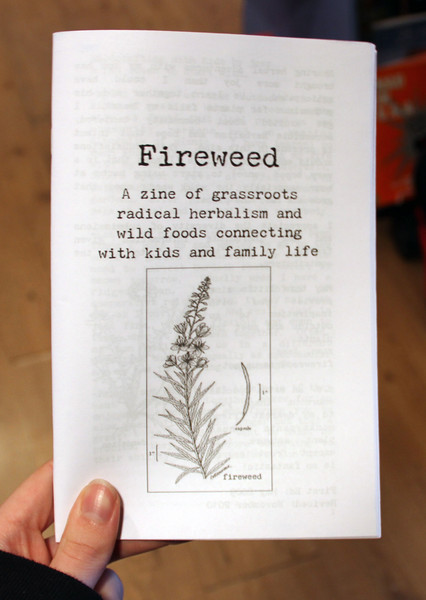 Fireweed zine cover, issue one