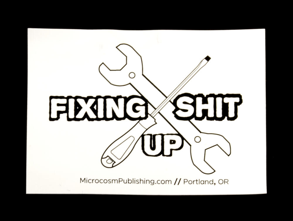 Sticker #369: Fixing Shit Up