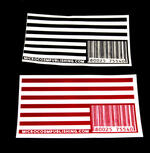 Sticker #215: Flag Barcode