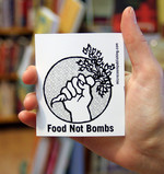 Sticker #181: Food Not Bombs