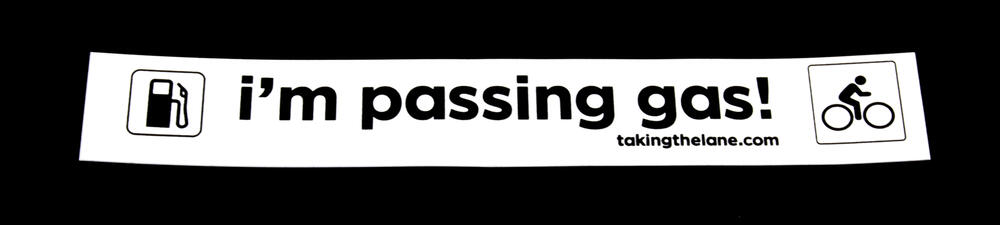 Sticker #347: I'm Passing Gas!