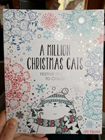 A Million Christmas Cats: Festive Felines to Color
