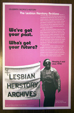 Lesbian Herstory Archives poster