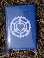 Chainring Heart magnet
