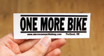 Sticker #121: One More Bike