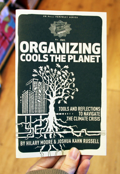 Organizing Cools the Planet zine cover
