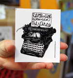 Sticker #180: Typewriter