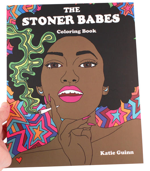 The Stoner Babes Coloring Book Microcosm Publishing